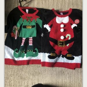 Sweaters - Fun Christmas Sweater For Two Best Friends Ugly